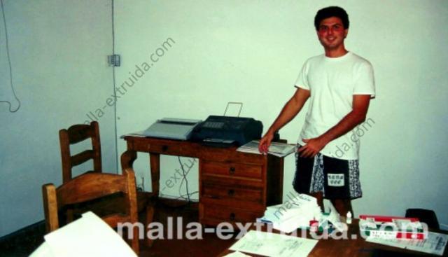 Primer empleado de Mallas Tenax en 1994 en Guadalajara