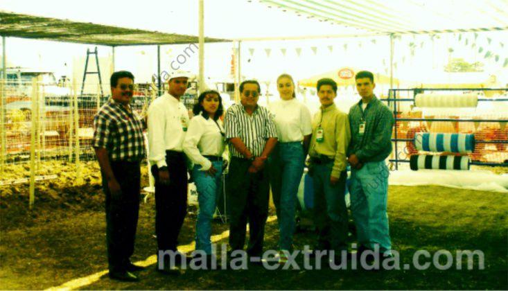 Mallas Tenax en Expo-Agro Sinaloa 1996
